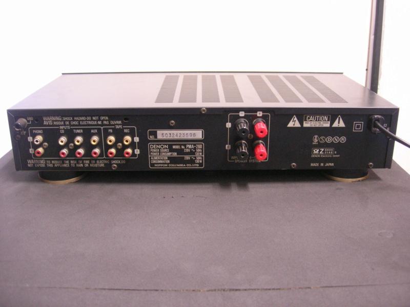 Denon pma-260 amplifier(sold) Dscn3019