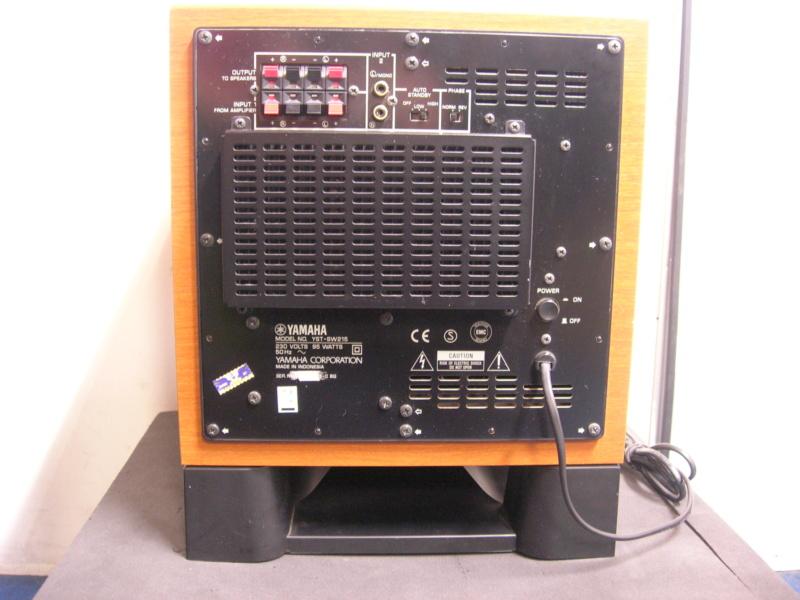 Yamaha yst-sw215 active sub woofer(sold) Dscn3119