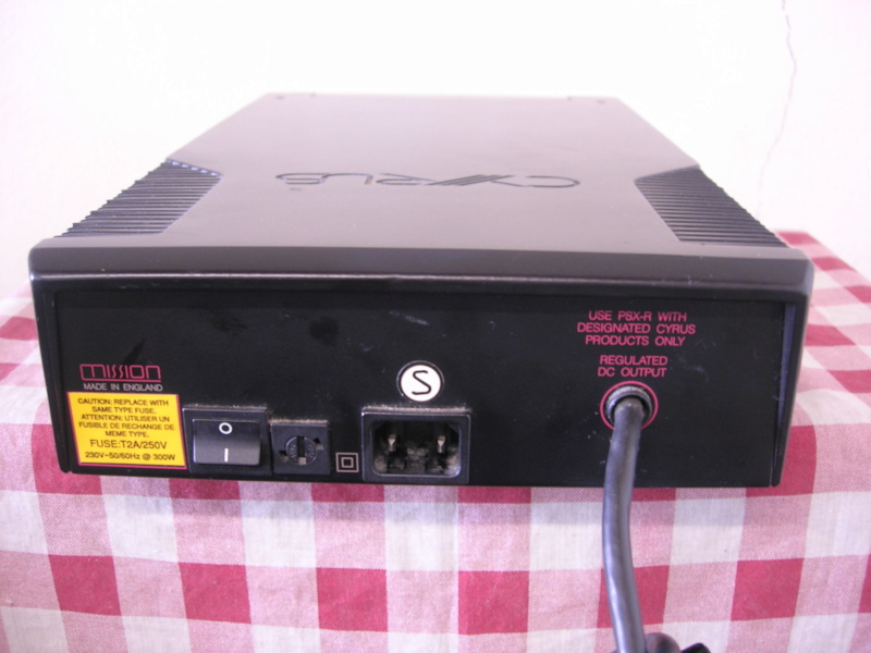 Cyrus PXS-R power supply(sold) Dscn3312