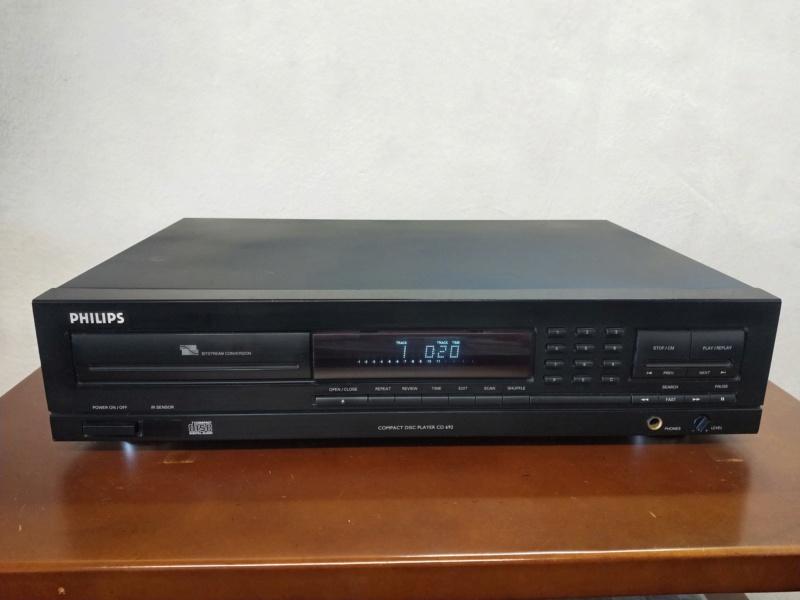 Philips cd692 player Img20226