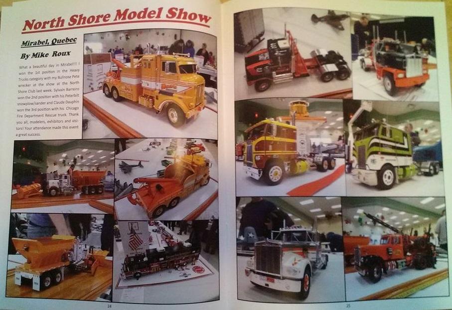 AMT White Road Boss Camion Transporteur de bois! (Cousin du Québec,Ville de Laval) White_12