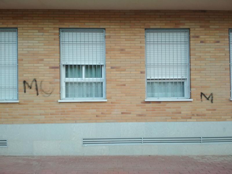 Eliminación grafitis fachada edificio Grafit10