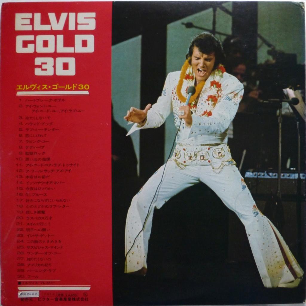 ELVIS GOLD 30 1e22