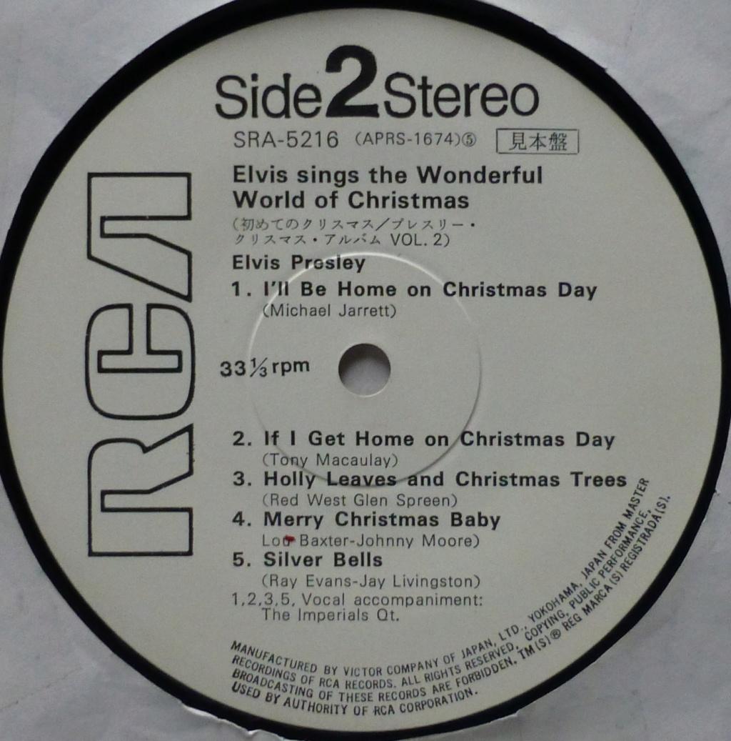 ELVIS SINGS THE WONDERFUL WORLD OF CHRISTMAS VOL.2 1h12