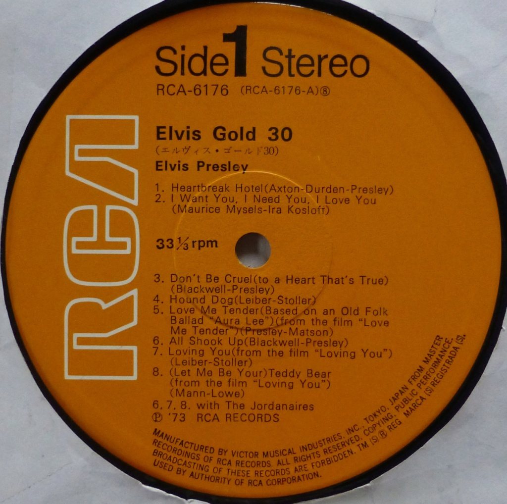 ELVIS GOLD 30 1u11