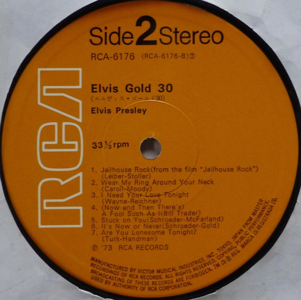 ELVIS GOLD 30 1v10