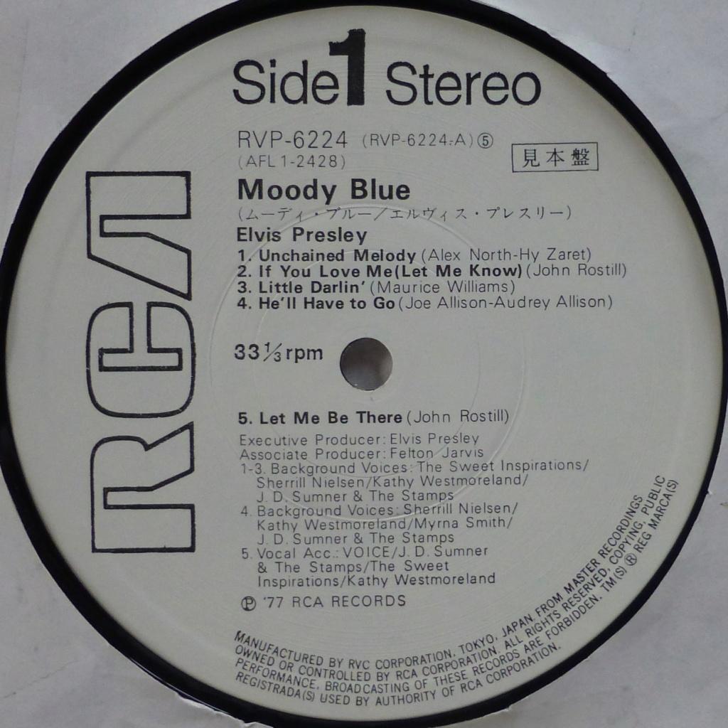 MOODY BLUE 2g11