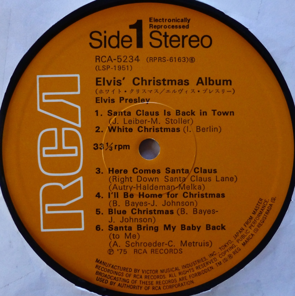 ELVIS' CHRISTMAS ALBUM P1080317
