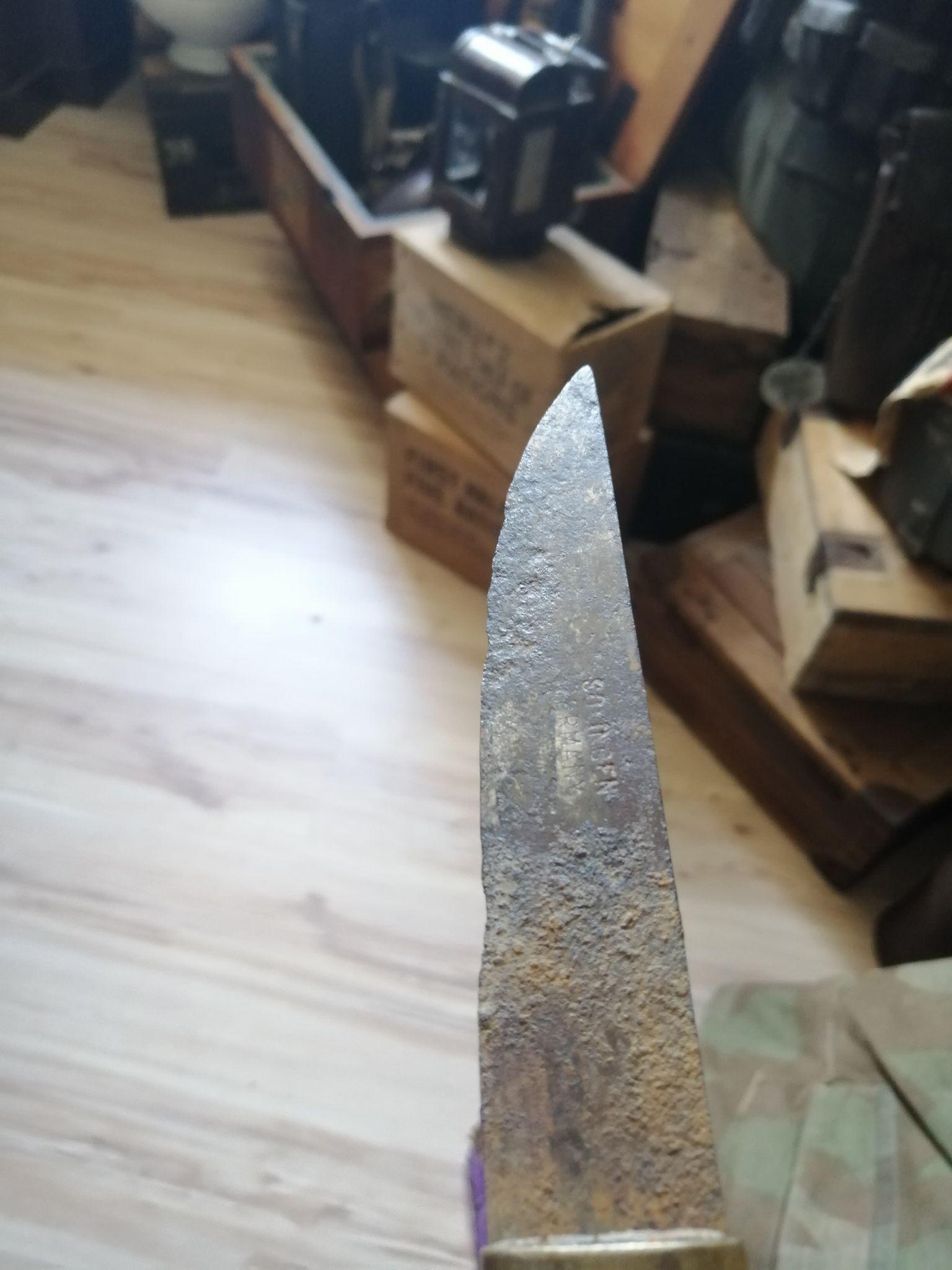 couteau a cran ancien marquage solingen germany 18366710