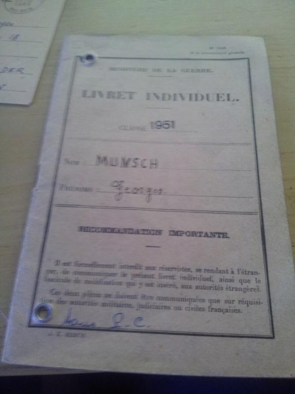 Lot de papier français  20180843
