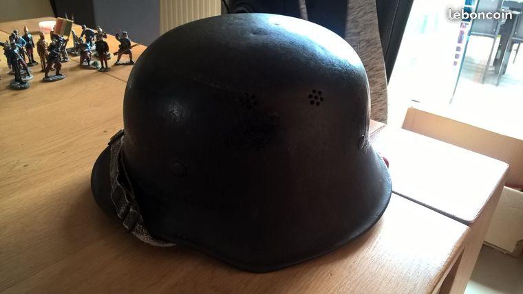 Casque pompier allemand ww2 ? 24646610