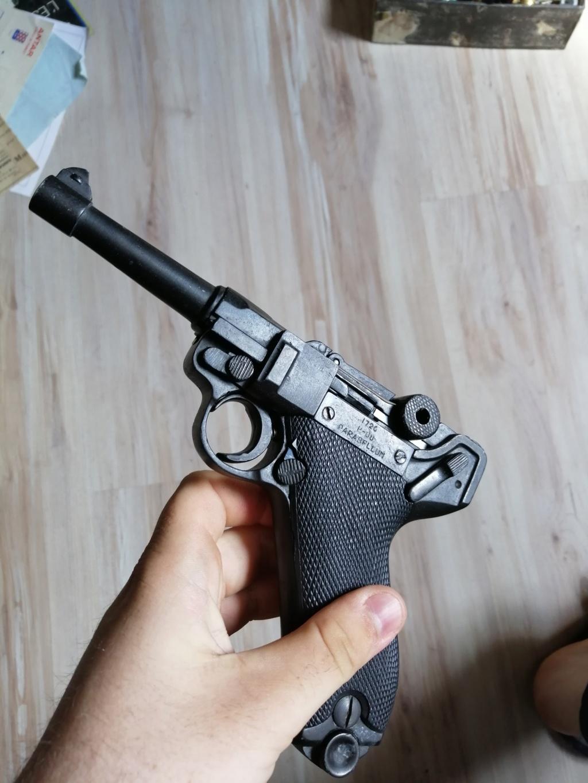 Luger P08 changez les plaquette et rebronzage  Img_2538