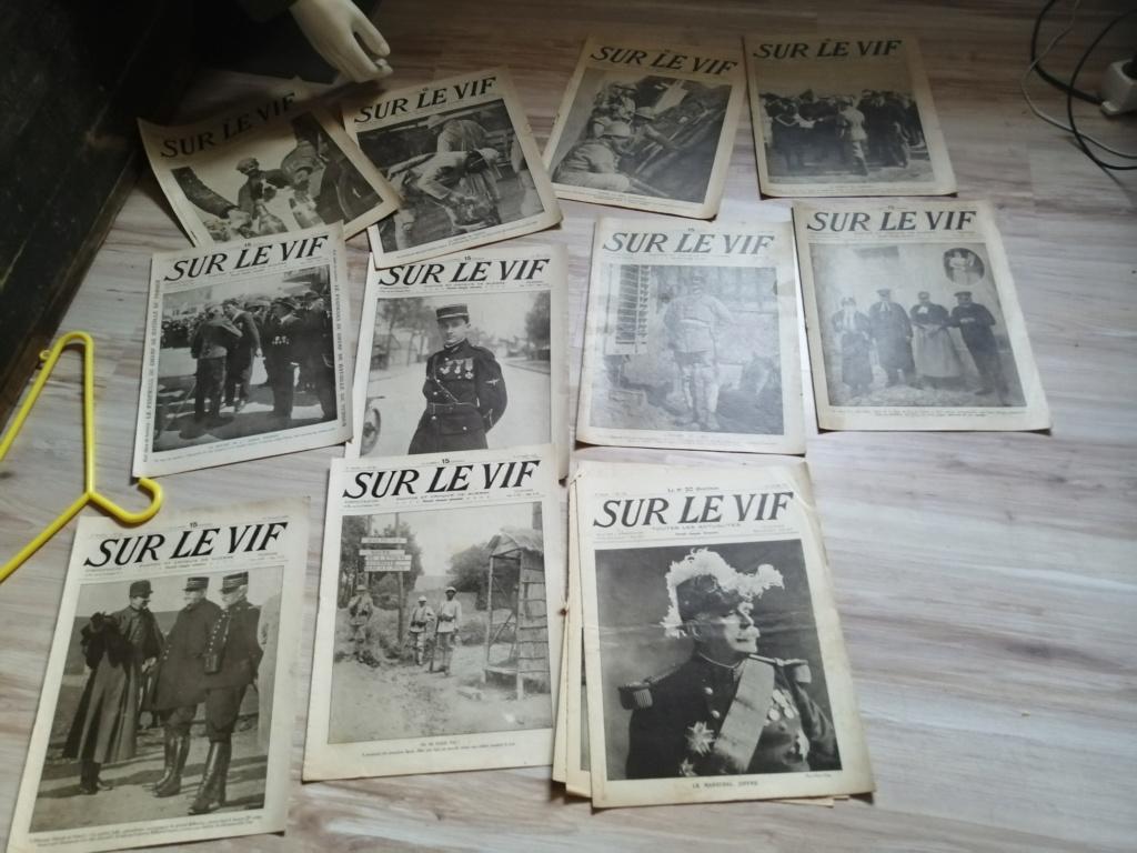 Estimation d'un lot de revues , journaux ww1 Img_2731