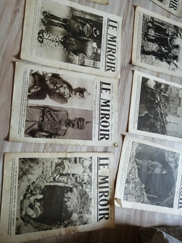 Estimation d'un lot de revues , journaux ww1 Img_2733