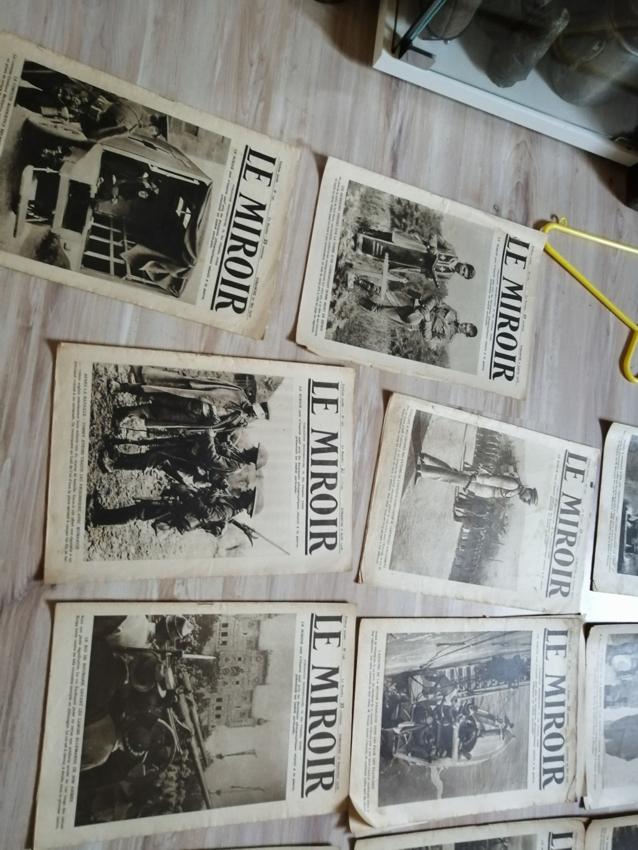 Estimation d'un lot de revues , journaux ww1 Img_2736