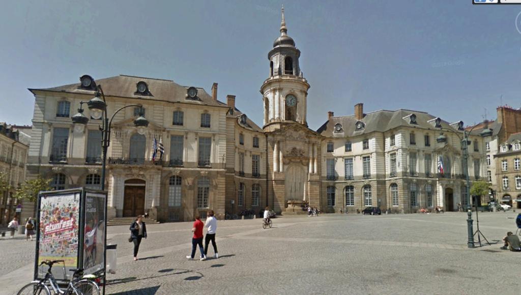 Rennes 1942-2019  Mairie10