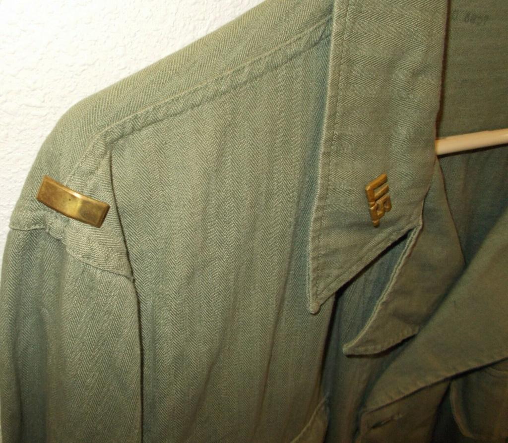 Veste HBT avec insignes métalliques  S-l16112