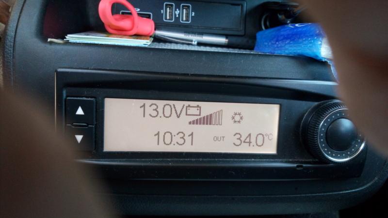 La batterie additionnelle ne se recharge pas en roulant. Img_2066