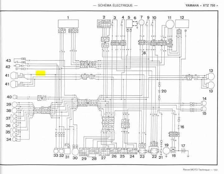 Montage de feux additionnels XTZ 750 Captur10
