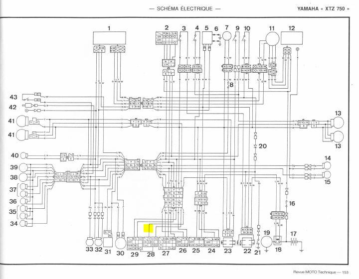 Montage de feux additionnels XTZ 750 Captur11