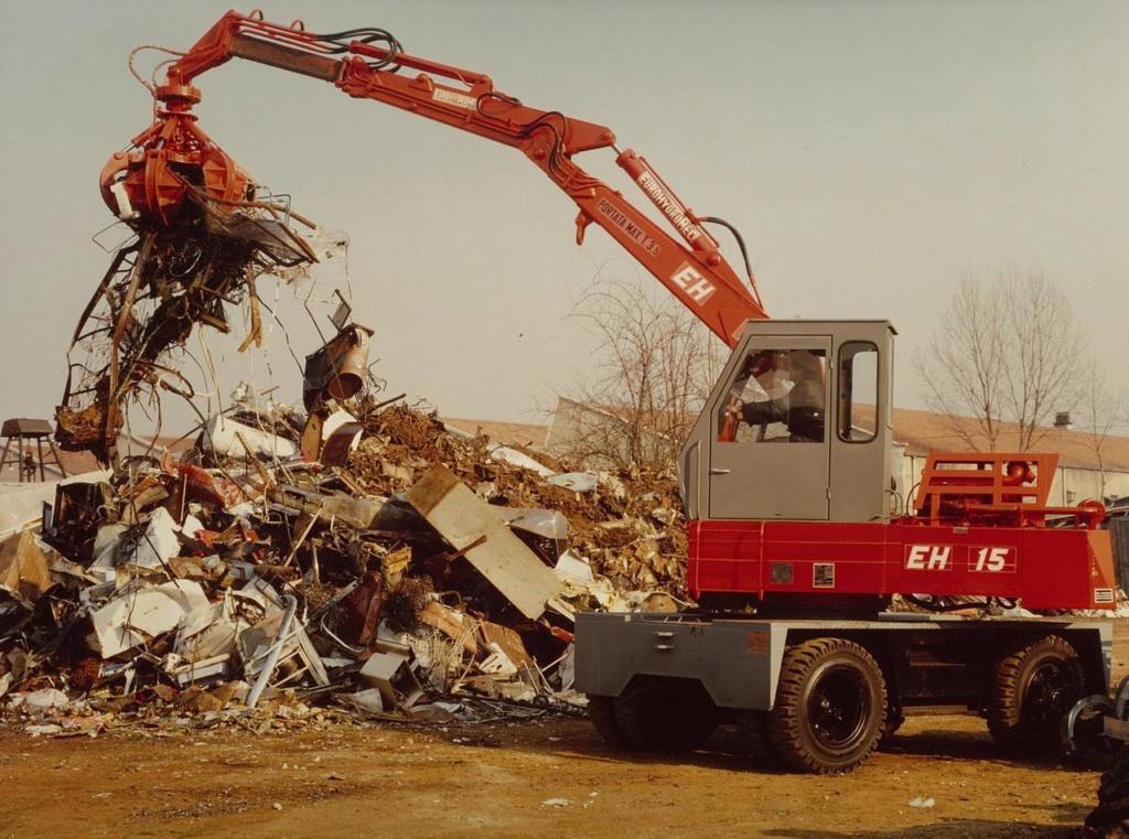 movimentatori materiali x rottami e legname Ragno10