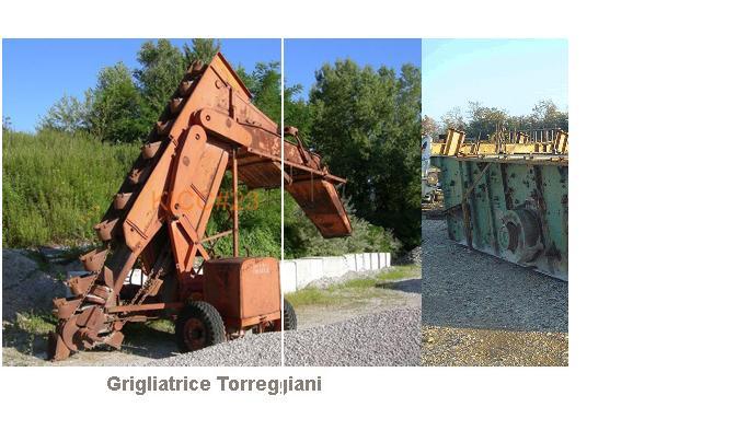 grigliatrici draghe escavatrici a noria  Torreg12
