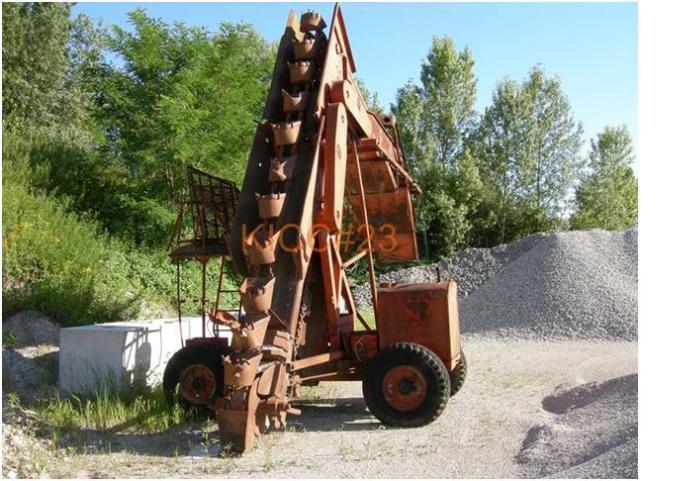 grigliatrici draghe escavatrici a noria  Torreg15
