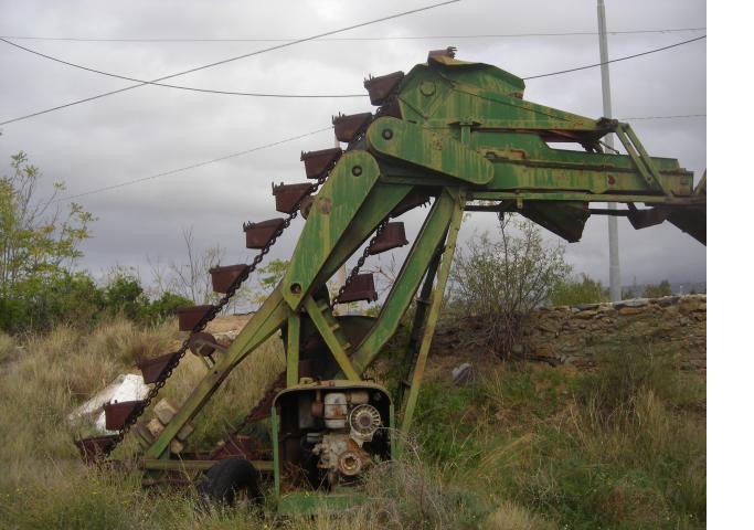 grigliatrici draghe escavatrici a noria  Torreg16