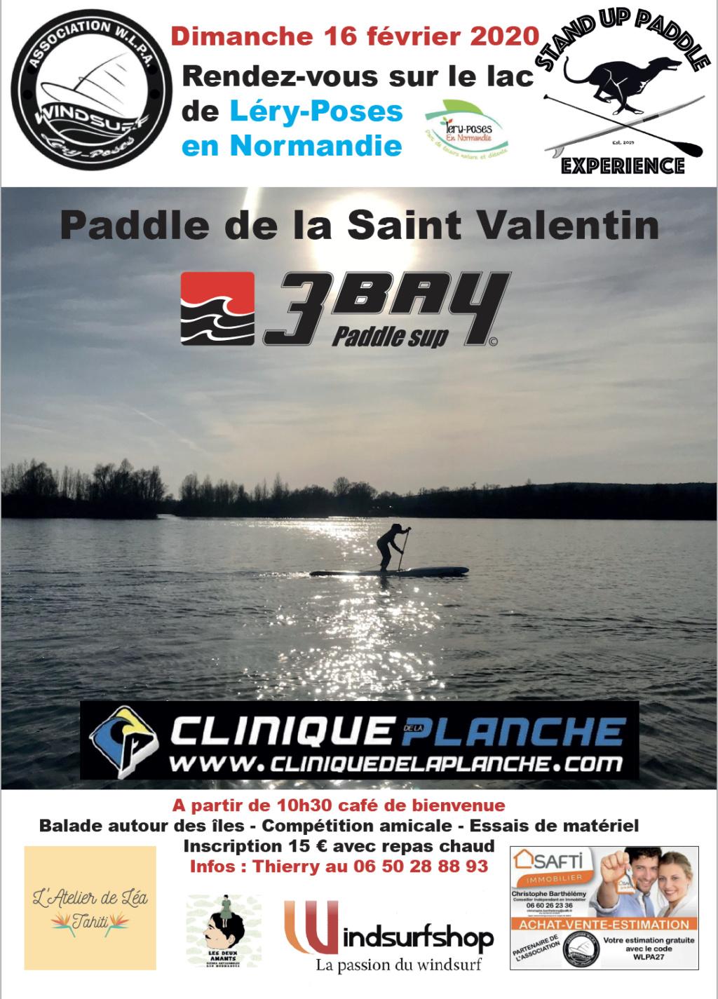 Paddle de la Saint Valentin 2020 Affich11
