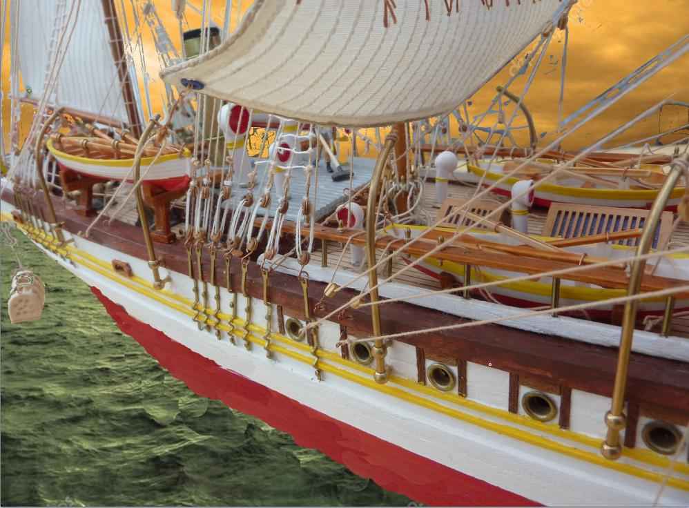 Le Pourquoi-Pas 1908 - Billing Boats - 1/75éme - Page 10 Explo113