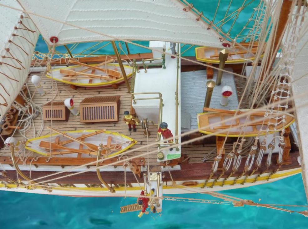 Le Pourquoi-Pas 1908 - Billing Boats - 1/75éme - Page 10 Explo119