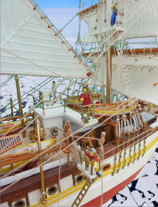 Le Pourquoi-Pas 1908 - Billing Boats - 1/75éme - Page 10 Explo214