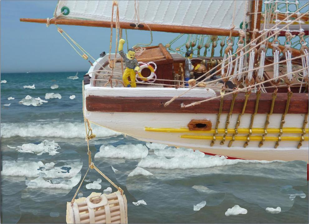 Le Pourquoi-Pas 1908 - Billing Boats - 1/75éme - Page 10 Explo216