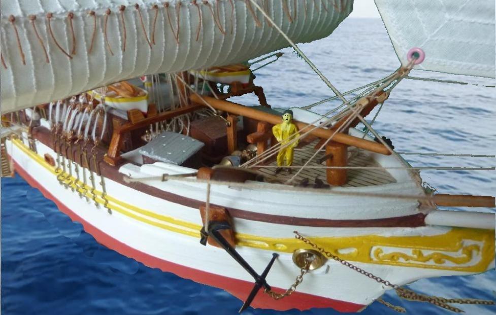 Le Pourquoi-Pas 1908 - Billing Boats - 1/75éme - Page 10 Explo410