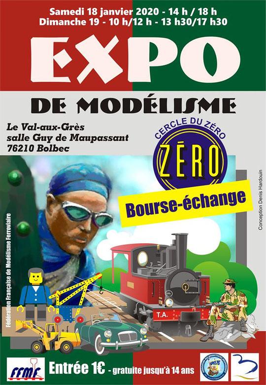 Expo modélisme à Bolbec les 18 et 19 janvier 2020 Image10