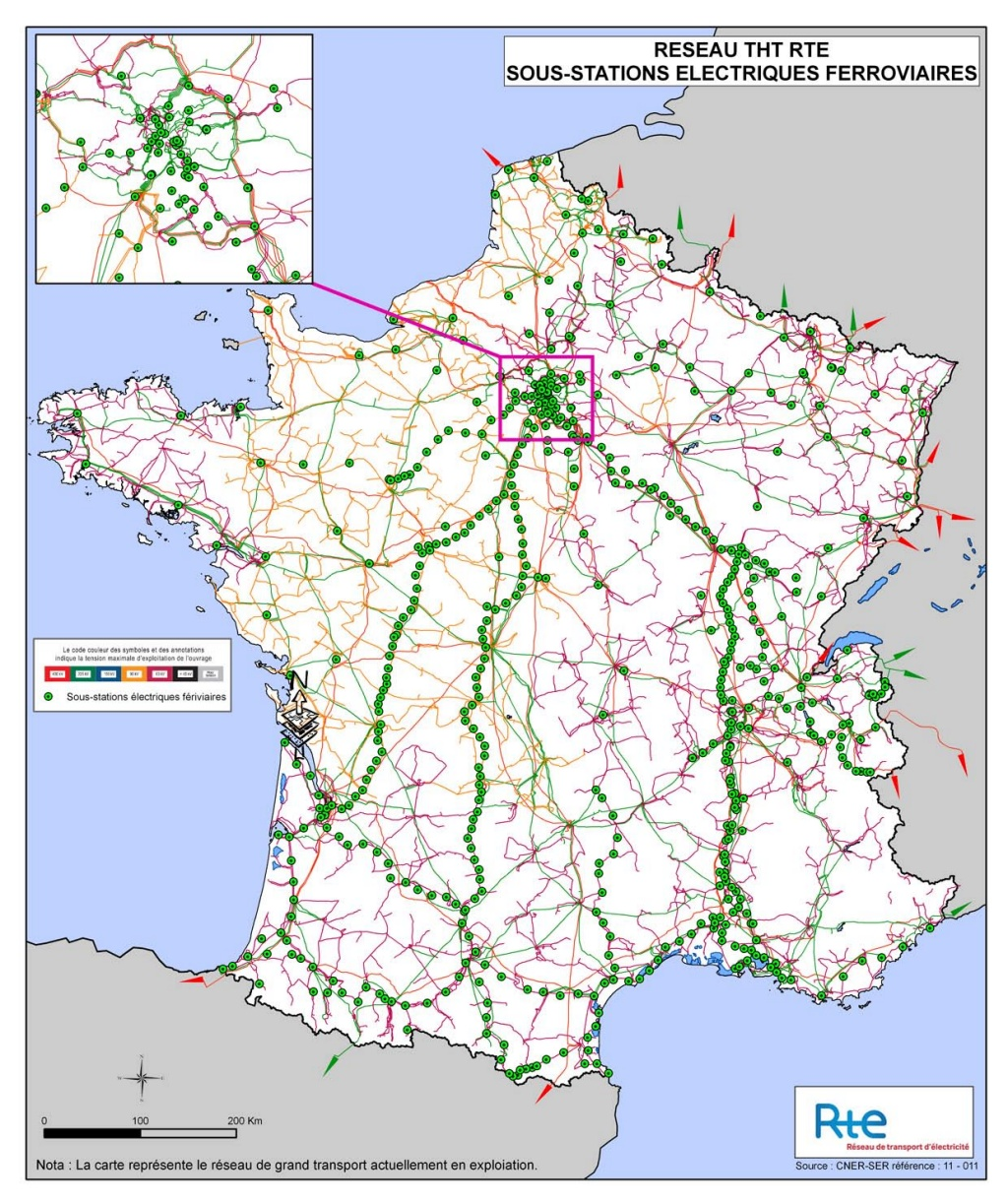 """Un peu de géographie """"électro-ferroviaire"""" Sousst11"""