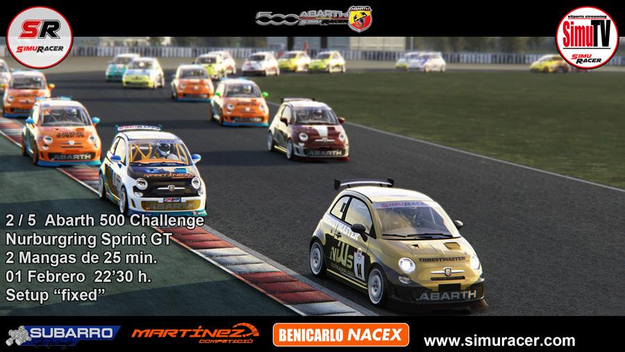 ABARTH 500 CHALLENGE - 2/5 NURBURGRING SPRINT GT - 01 FEBRERO C2_min10