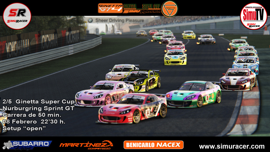 GINETTA SUPER CUP - 2/5 NURBURGRING SPRINT GT - 08 FEBRERO C2_min12