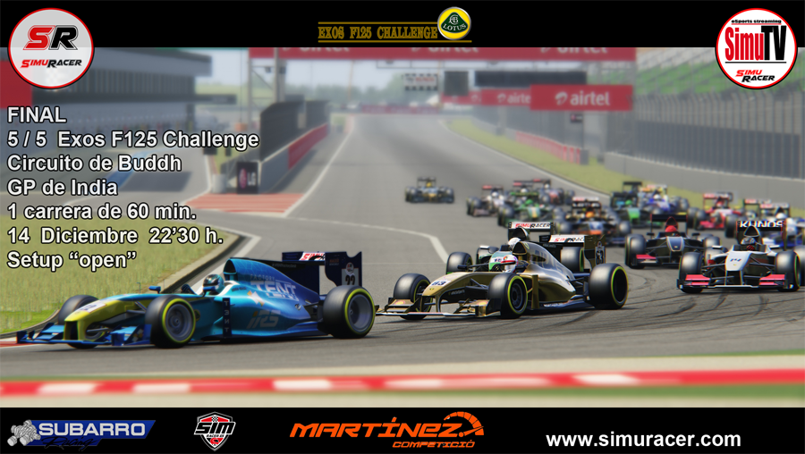 EXOS CHALLENGE - CARRERA 5 - FINAL - GP INDIA - 14 DICIEMBRE C5_exo10