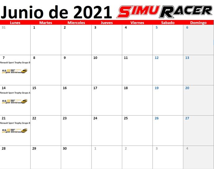 SimuRacer - Noticias Calend20