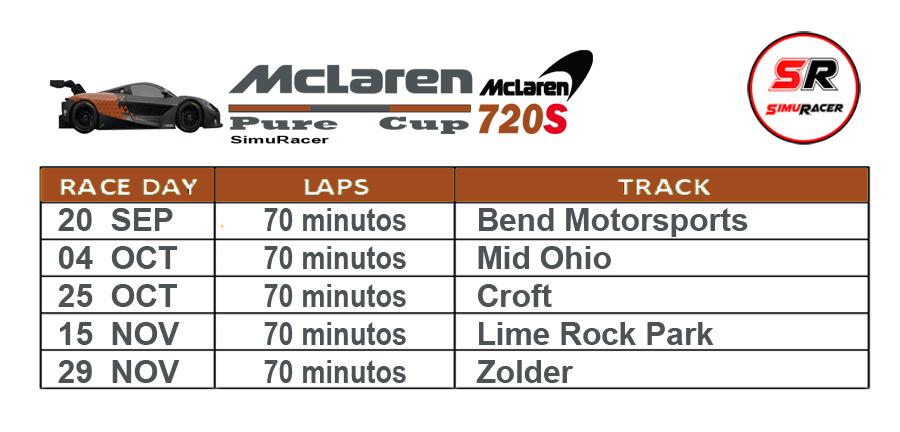 PRESENTACION MCLAREN PURE CUP Calend23