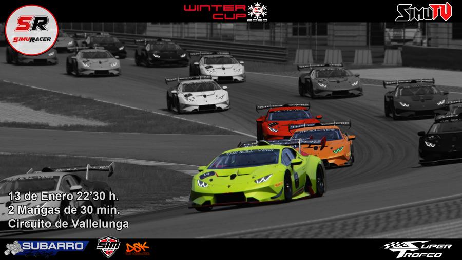 WINTER CUPS 2020 - PRIMER EVENTO - SUPER TROFEO - VALLELUNGA - 13 ENERO Carrer13