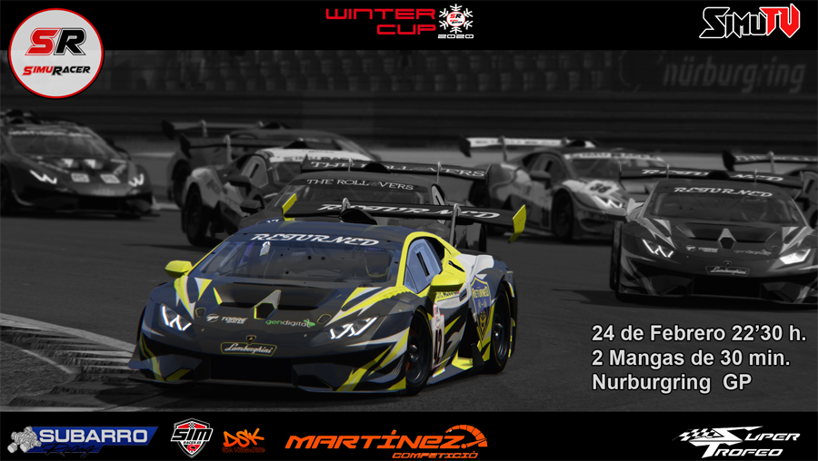 WINTER CUPS 2020 - TERCER EVENTO - SUPER TROFEO - NURBURGRING - 24 FEBRERO Carrer19