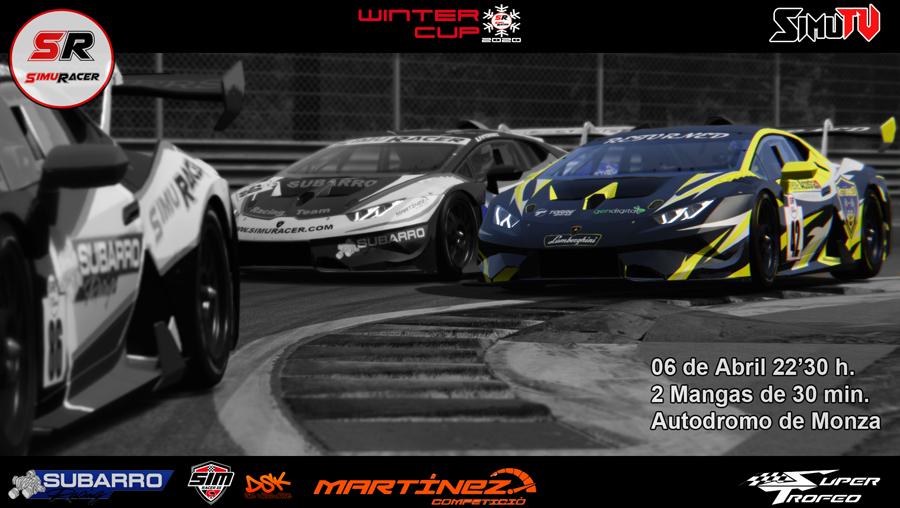 WINTER CUPS 2020 - QUINTO EVENTO - SUPER TROFEO - MONZA - 06 ABRIL Carrer23