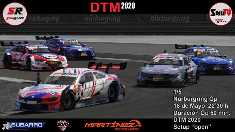 DTM 2020 - CARRERA 1 - NURBURGRING . 18 MAYO Carrer24