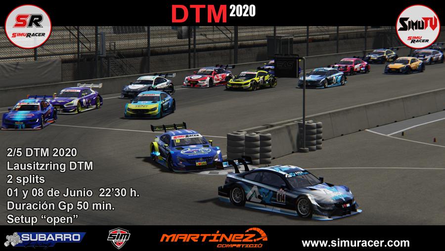DTM 2020 - CARRERA 2 - LAUSITZRING . 01 JUNIO Carrer25