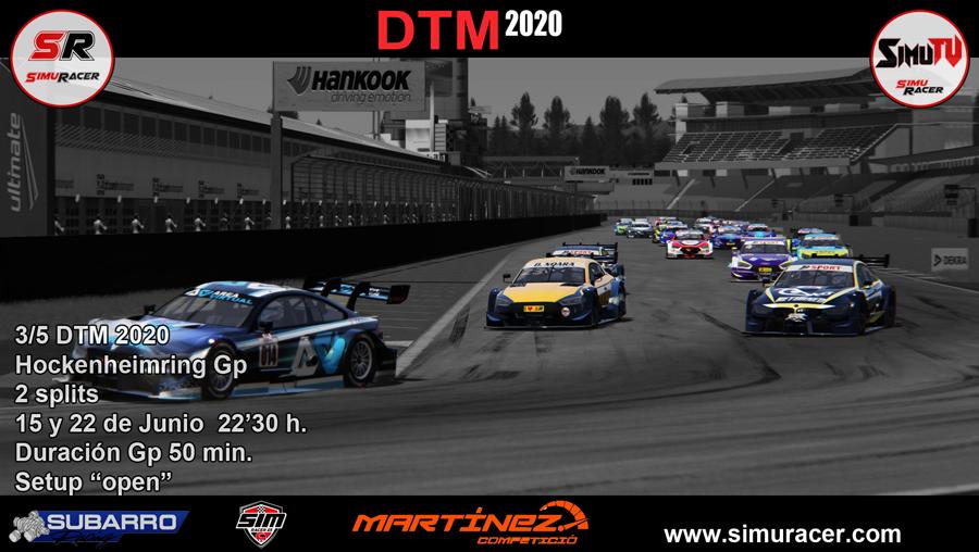DTM 2020 - CARRERA 3 - HOCKENHEIMRING . 15 y 22 JUNIO Carrer26