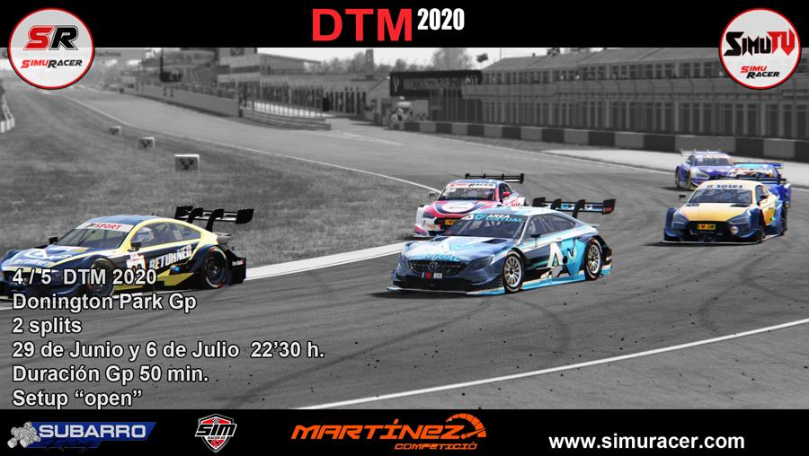 DTM 2020 - CARRERA 4 - DONINGTON GP . 29 JUNIO y 6 JULIO Carrer27