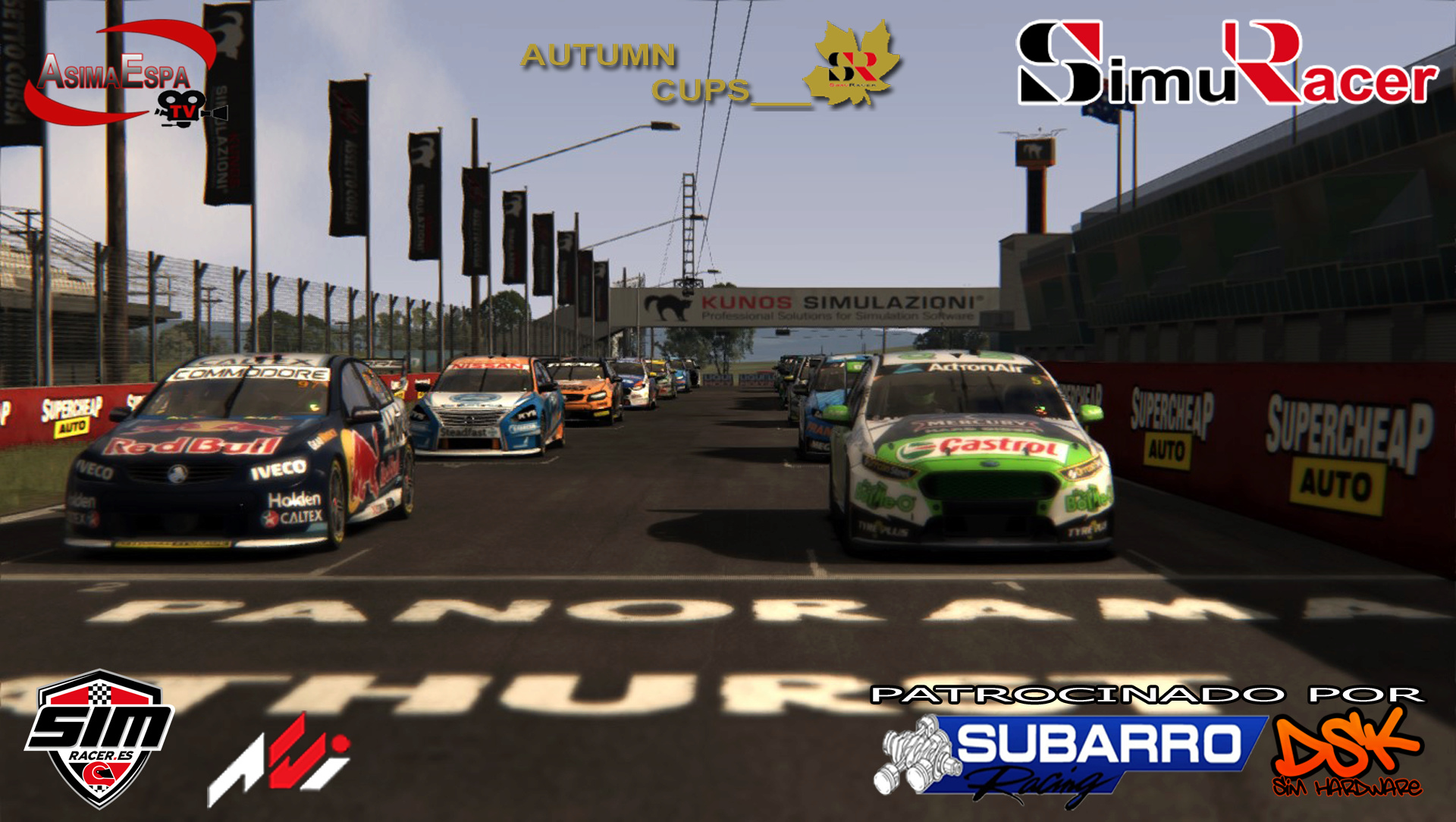 AUTUMN CUPS - CAMPEONATO  SUPERCARS V8 - BATHURST 3 DE DICIEMBRE (FINAL) Cartel28