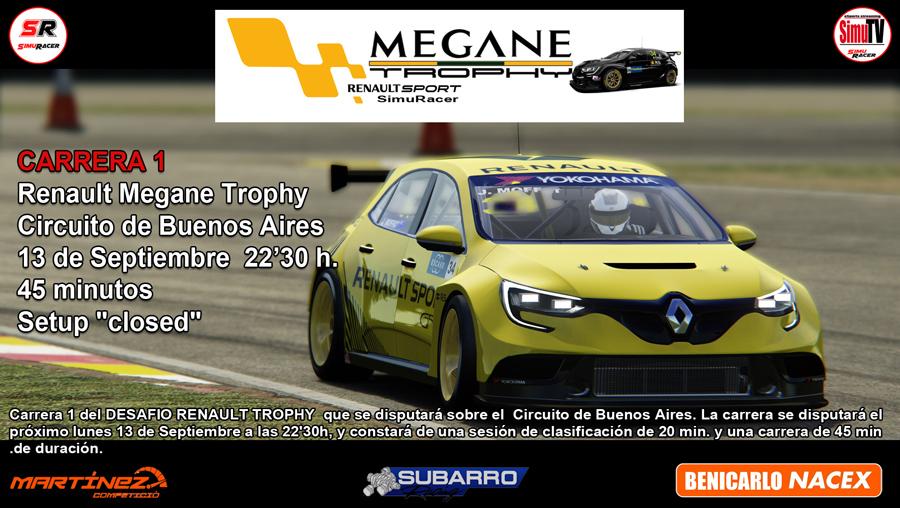 DESAFIO MEGANE TROPHY - CARRERA 1 - BUENOS AIRES - 13 SEPTIEMBRE Cartel32